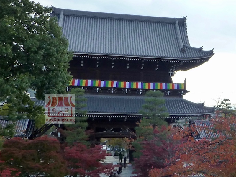日本京都光明寺Japan Kyoto Konkai Komyoji Temple