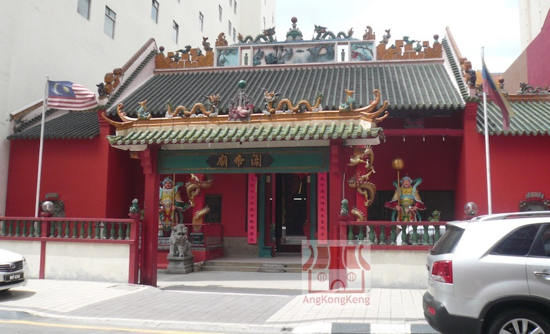 吉隆坡关帝庙KL Guan Di Temple Building