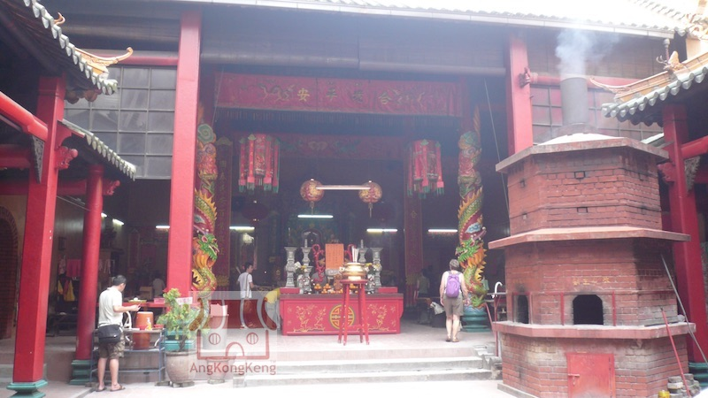 吉隆坡关帝庙KL Guan Di Temple Main Hall