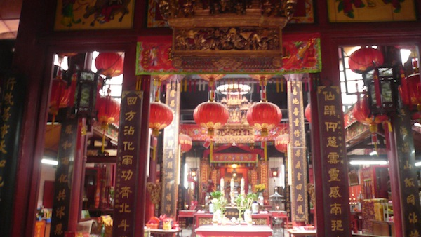 吉隆坡仙四师爷庙KL Sin Sze Si Sze Ya Temple Main Door