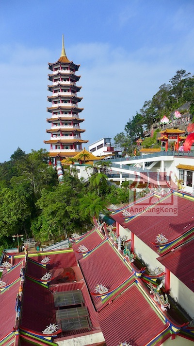 彭亨云顶高原清水岩庙Pahang Genting Highlands Chin Swee Caves Temple Building12