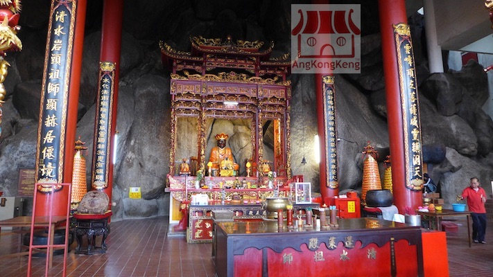 彭亨云顶高原清水岩庙Pahang Genting Highlands Chin Swee Caves Temple Deity1